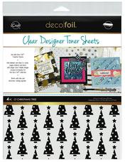 Deco Foil™ Clear Toner Sheets • O' Christmas Tree