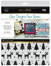 Deco Foil™ Clear Toner Sheets • Rustic Winter