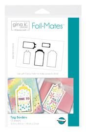 Gina K. Designs Foil-Mates™ • Tag Borders
