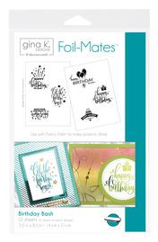 Gina K. Designs Foil-Mates™ Sentiments • Birthday Bash
