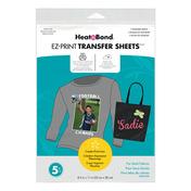 HeatnBond EZ Print Inkjet Transfer Sheets • For Dark Colord Fabrics