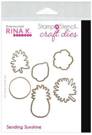 Rina K. Designs StampnStencil Die Set, Sending Sunshine picture
