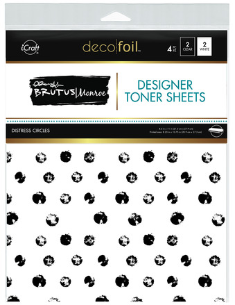 Brutus Monroe Designer Toner Sheets  - Distress Circles picture