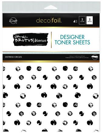 Brutus Monroe Designer Toner Sheets  - Distress Circles picture