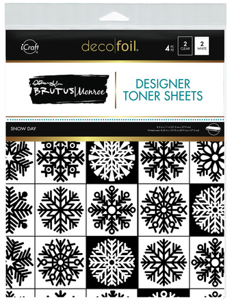Brutus Monroe Designer Toner Sheets  - Snow Day picture