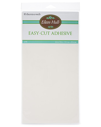 """Eileen Hull Easy Cut Adhesive Sheets 6"""" x 12"""" sheets (4 sheets per pack) picture"""