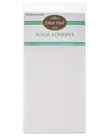"""Eileen Hull Foam Adhesive Sheets 6"""" x 12"""" sheets (4 sheets per pack) picture"""