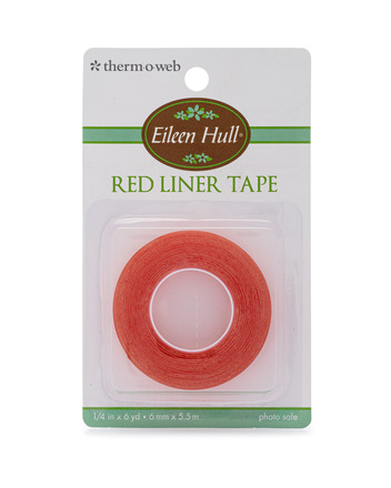 Eileen Hull Red Liner Tape 1/4 in x 6 yd picture