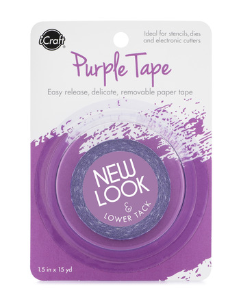 Purple Tape,1/2 in picture
