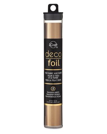 Deco Foil Transfer Sheets - Bronze picture