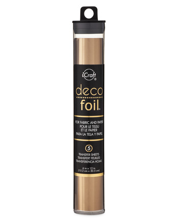 Deco Foil Transfer Sheets - Bronze picture