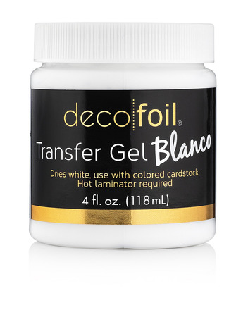 Deco Foil Transfer Gel Blanco - 4 fl. oz. picture