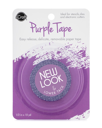 "iCraft Purple Tape,1.5"" picture"
