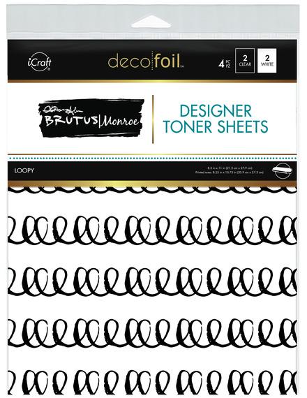 Brutus Monroe Designer Toner Sheets  • Loopy picture