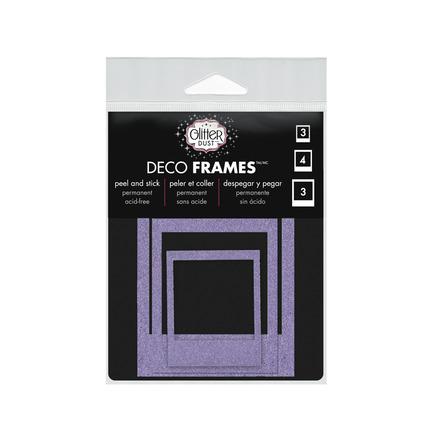 Glitter Dust™ Photo Frame Assortment-Purple picture