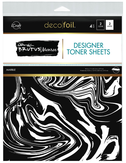 Brutus Monroe Designer Toner Sheets  • Marble picture