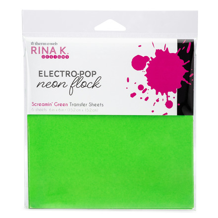 Rina K. Designs Neon Flock Sheets, Screamin' Green picture