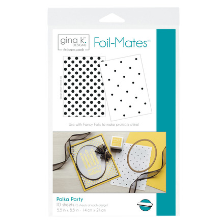 Gina K. Designs Foil-Mates™ Backgrounds • Polka Party picture