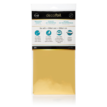 Deco Foil Transfer Sheets Value Pack - Gold picture