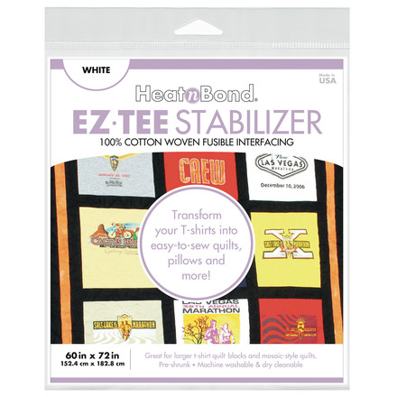 """EZ-TEE Woven Fusible Stabilizer - 60"""" x 72"""" - White picture"""