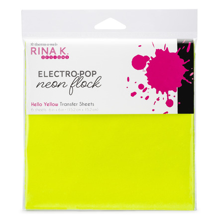 Rina K. Designs Neon Flock Sheets, Hello Yellow picture
