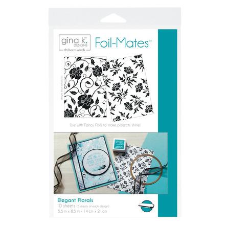 Gina K. Designs Foil-Mates™ Backgrounds • Elegant Florals picture