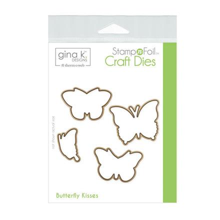 Gina K. Designs StampnFoil Die Set • Butterfly Kisses picture