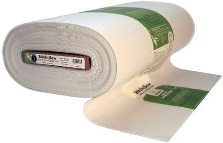 StitchnSew Non-Woven Craft Sew-In Extra Firm (White 20 in. x By The Yard) picture