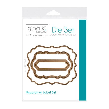 Gina K. Designs (3) Nested Label Dies picture
