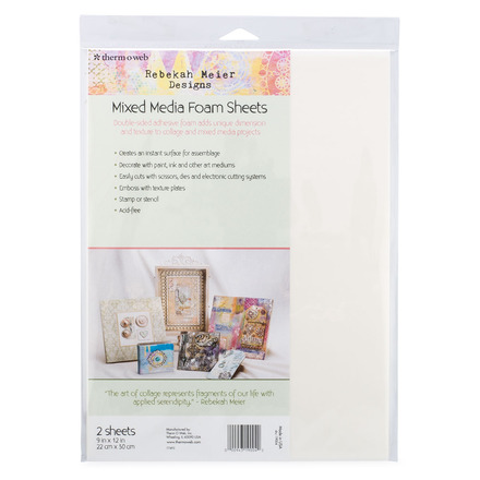 "Rebekah Meier Designs Mixed Media Foam Sheets 9"" x 12"" (2 sheets per pack) picture"