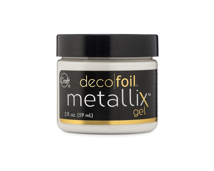 Deco Foil Metallix Gel – White Pearl picture