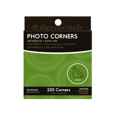 Photo Corners • Clear picture
