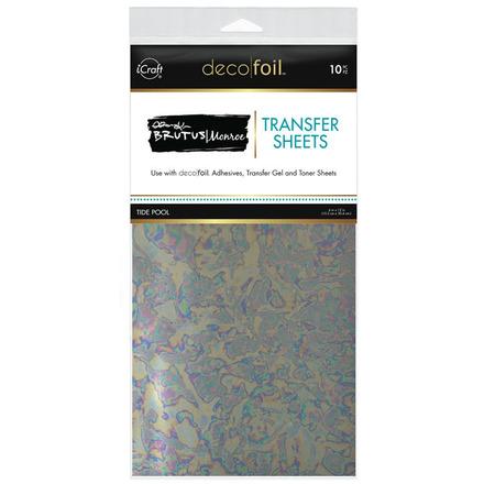 Brutus Monroe Foil Transfer Sheets • Tide Pool picture