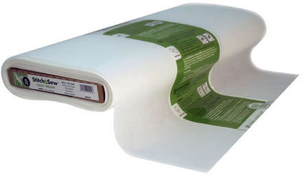 StitchnSew Non-Woven Tear-Away Heavy Weight (White 20 in. x By The Yard) picture