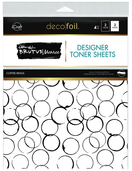Brutus Monroe Designer Toner Sheets • Coffee Rings picture