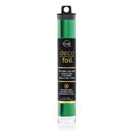 Deco Foil™ Transfer Sheets • Green picture