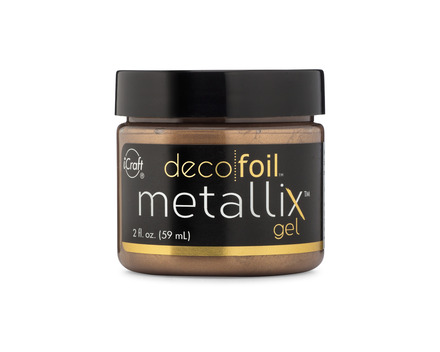 Deco Foil Metallix Gel – Aged Copper