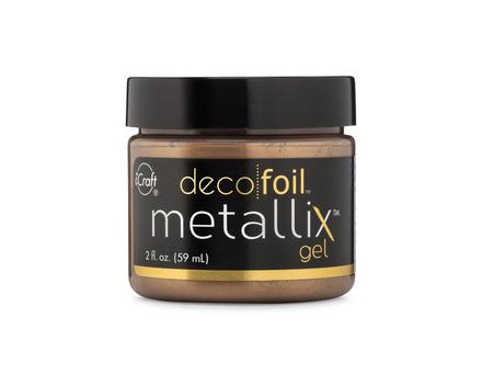 Deco Foil Metallix Gel – Aged Copper picture