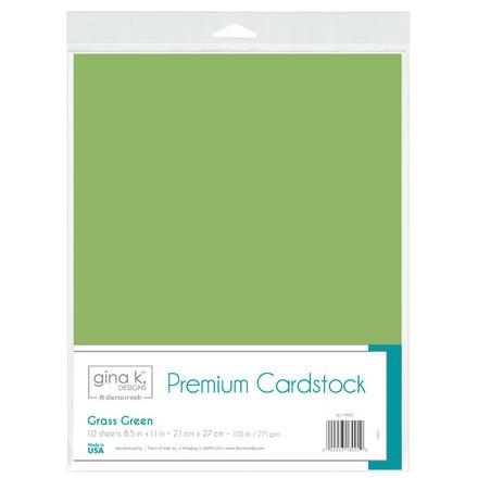 Gina K. Designs Premium Cardstock • Grass Green picture