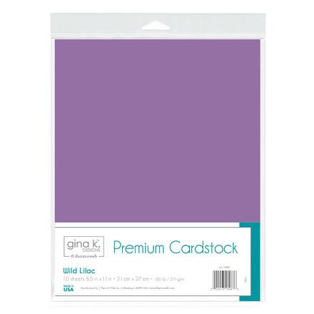 Gina K. Designs Premium Cardstock • Wild Lilac picture