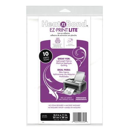 """HeatnBond EZ Print Lite • 8.5""""x11"""" picture"""