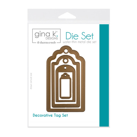 Gina K. Designs (4) Nested Tag Dies picture