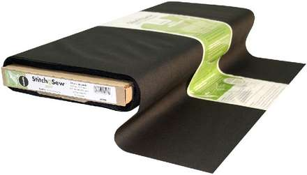 StitchnSew Woven Sew-In Soft (Black 22 in. x By The Yard) picture