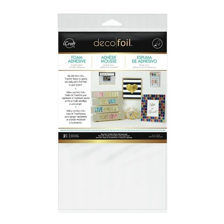 Deco Foil™ White Foam Adhesive picture