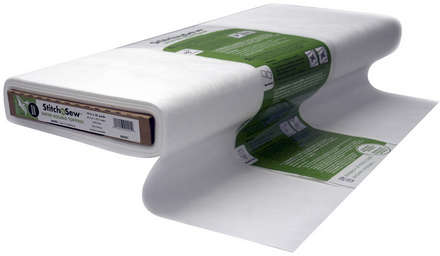 StitchnSew Non-Woven Wash-Away Water-Soluble Topping (White 19 in. x By The Yard) picture