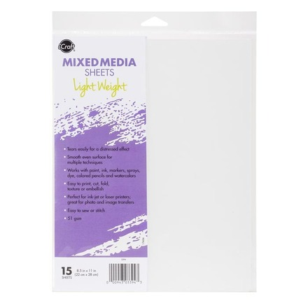 iCraft Mixed Media Sheets • Light Weight picture