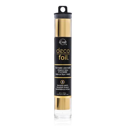 Deco Foil Transfer Sheets - Gold picture