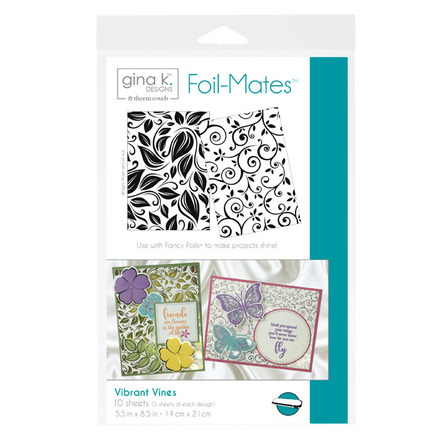 Gina K. Designs Foil-Mates™ Backgrounds • Vibrant Vines picture