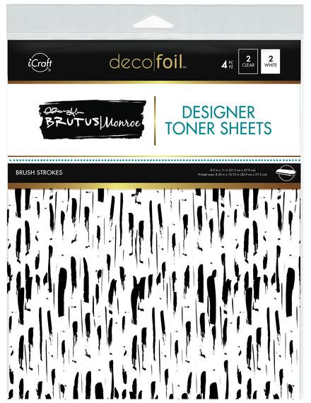 Brutus Monroe Designer Toner Sheets  • Brush Strokes picture