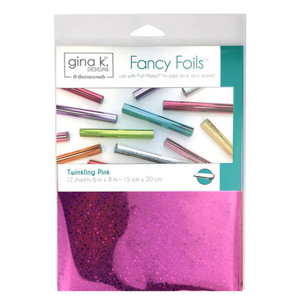 "Gina K. Designs Fancy Foils 6"" x 8"" - Twinkling Pink picture"